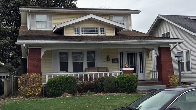 "The house used in exterior shots of the ""Roseanne"" TV sitcom is at 619 Runnymeade Ave. on the south side of Evansville, Ind."
