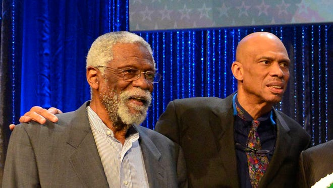 Former NBA Legends help celebrate Bill Russell's 80 birthday during the Legends Brunch at Ernest N. Morial Convention Center.
