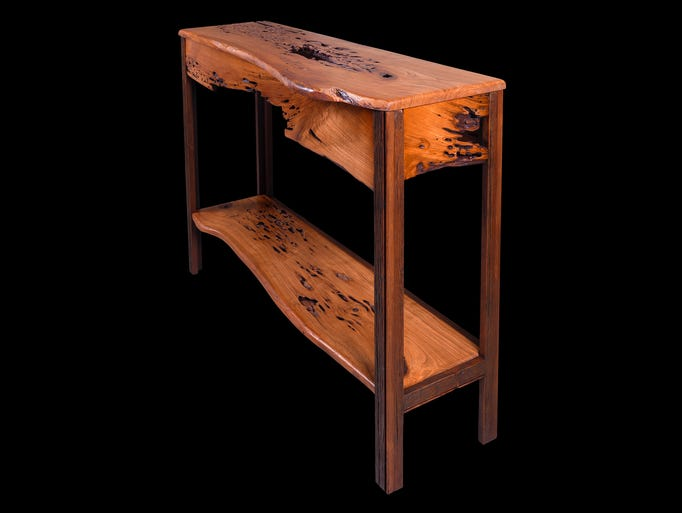 William Alburger is a wood eco-artist from Barto, Pennsylvania.