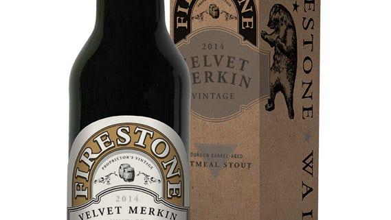 Velvet Merkin is an 8.5% barrel-aged oatmeal stout.
