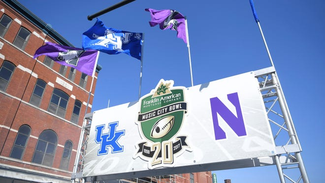 The Music City Bowl turned Broadway into a two-day block party last year.