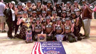 The ULM Hawkline brought home the 1st place trophy and the National Championship title in Division 1A Hip Hop, and 3rd in Division 1A in Jazz.
