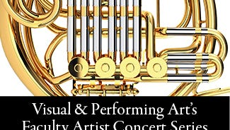 Visual & Performing Art's Faculty Artist Concert Series