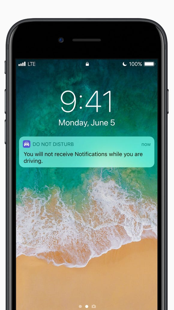 Apple's new mobile operating system for iPhones and