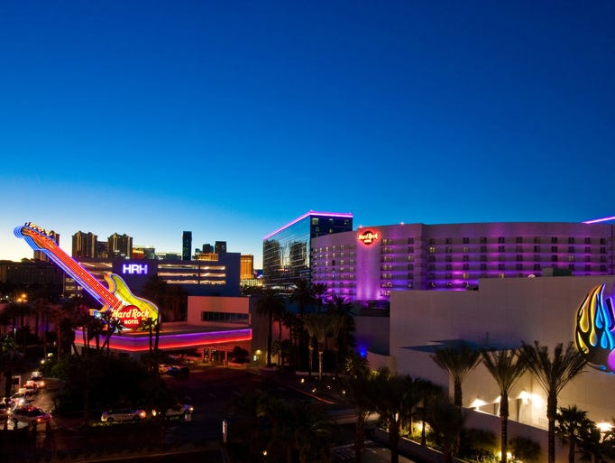 With a memorabilia collection valued at over five million dollars, The Hard Rock Hotel is a playground for music enthusiasts.