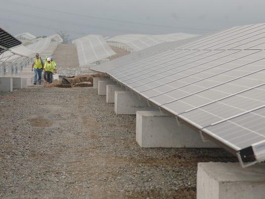 Largest solar farm opens in Kearny NJ leased by NJMC