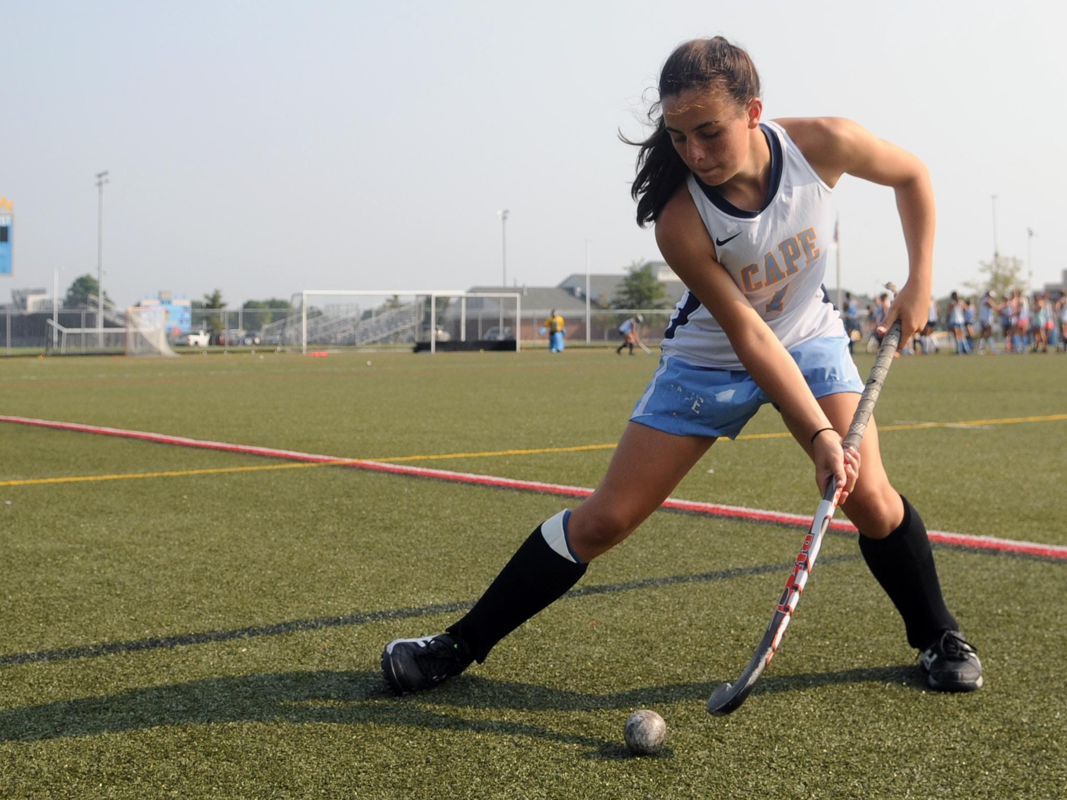Cape Henlopen senior captain Tess Bernheimer will be a key factor in helping the Vikings to a record fifth-straight state title.