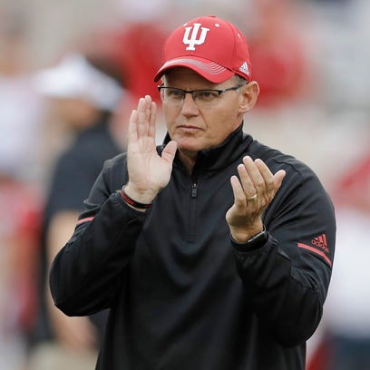 Indiana coach Tom Allen is just 3-6 in his second season,