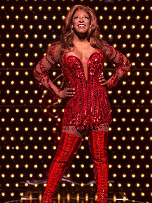 """Kyle Taylor Parker is Lola in """"Kinky Boots,"""" opening Tuesday at the Fox Cities Performing Arts Center in Appleton."""