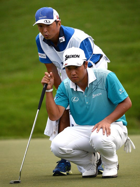 PGA Championship, second round