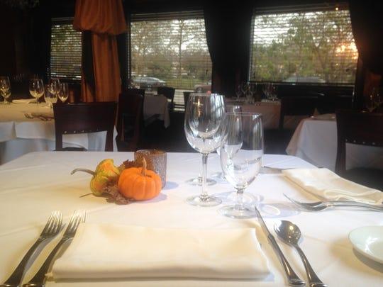 Enjoy the intimate and elegant atmosphere at Brando's.