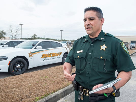 Santa Rosa County Sheriff vehicles