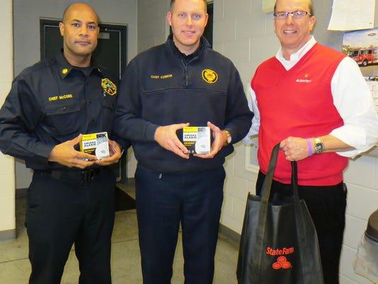 smoke detector donation