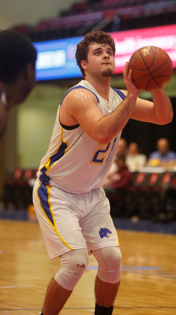 Ardsley senior Julian McGarvey helped his team reach the semifinals for the first time since 1999. The Panthers beat No. 1 Rye 53-42 in the Class A quarterfinals.