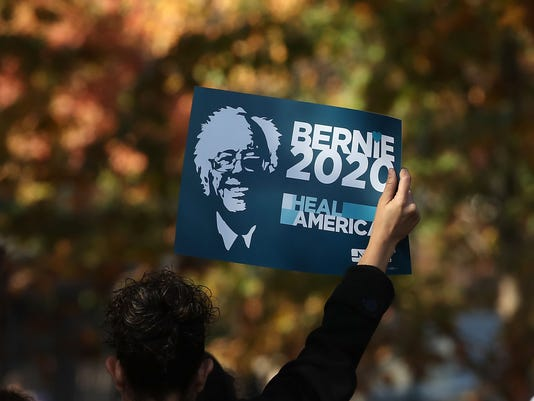 """Bernie Sanders, Democrats Join """"People's Rally"""" On Capitol Hill"""