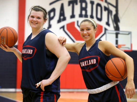 Shelby Gibson, left, and Ansley Eubank will head to