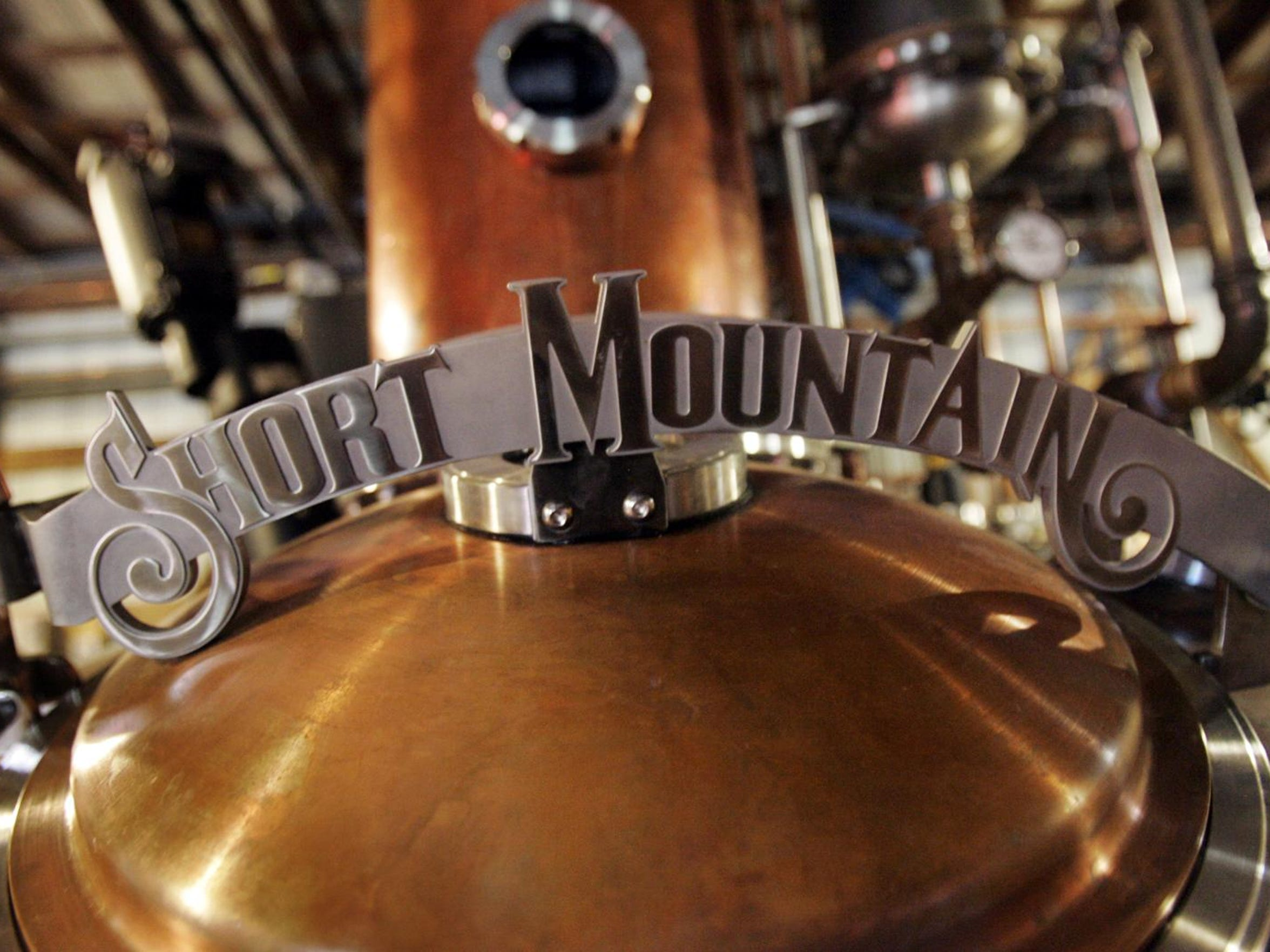 Short Mountain Distillery?s new copper kettle brews ?the best moonshine ever made, made even better,? says Billy Kaufman, president and CEO of the facility. John A. Gillis/DNJ Short Mountain Distillery, Oct. 18, 2012.