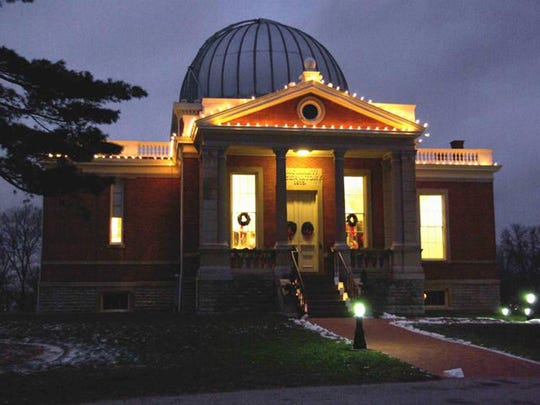 Visit the Cincinnati Observatory Sunday during Luminaria in Mount Lookout.