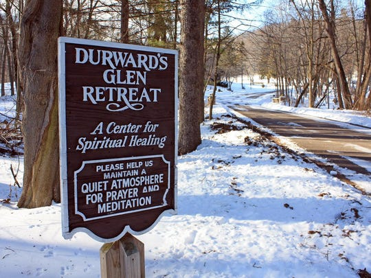 Durward's Glen was settled by the Durward family in 1862 and today is owned by a nonprofit that operates it as a retreat center. The grounds are open to the public from dawn until dusk daily.
