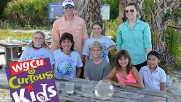"""A watershed segment on the """"Curious Kids"""" TV show is up for an Emmy. The December 2014 show featured a teacher from Dr. Carrie D. Robinson Littleton Elementary School, and two Lee County students."""