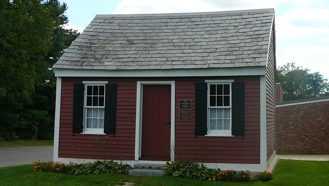 The township's historical treasure, a preserved 1837 one-room schoolhouse, has been turned into a small museum and is ready for community inspection.
