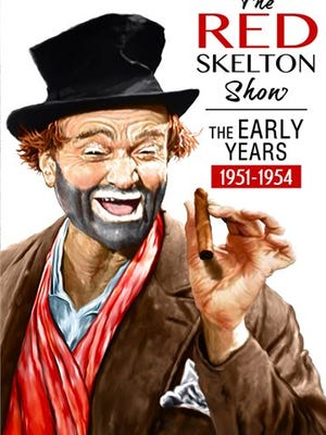 """This image released by Shout! Factory shows """"The Red Skelton Show: The Early Years, 1951-1955,"""" containing 90 episodes from his earliest era, many of which have never been seen since their original airing."""