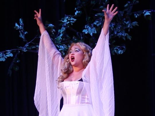 The Queen of the Night (Ally Halchak) astonishes with her dramatic second act aria.