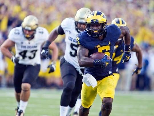 Michigan's Jabrill Peppers is a one-man wrecking crew.