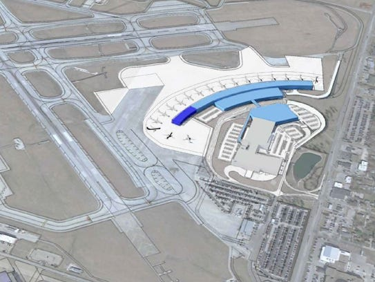 Des Moines Airports New Terminal May Depend Upon Trump - My flight to des moines
