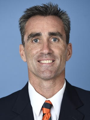 Mark Carroll, new director of track & field and cross country