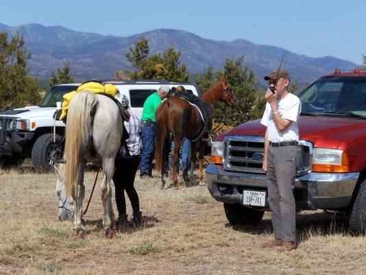 sierra Blanca Amateur Radio Club at Fort Stanton Endurance Ride