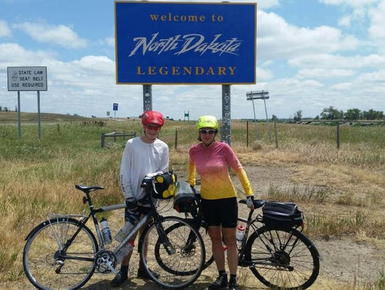 Putnam Okemos Native And Her Son Bike Coast To Coast On A 4 200