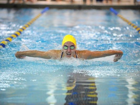 Goucher College  Swimming1-11-14