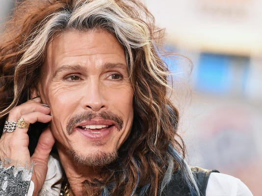 "Steven Tyler Performs On NBC's ""Today"""
