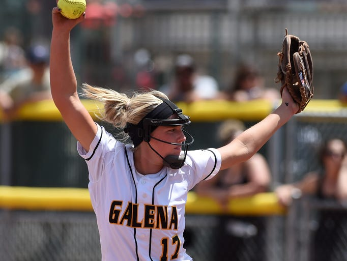 Action photos from the Galena vs Douglas at the Division I North Region softball tournament at Manogue High School on May 15, 2014.