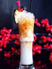 Hakuna Kolada, a drink from Blind Dragon karaoke club