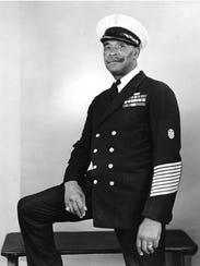 """Chief Gunner's Mate John Henry """"Dick"""" Turpin was one"""