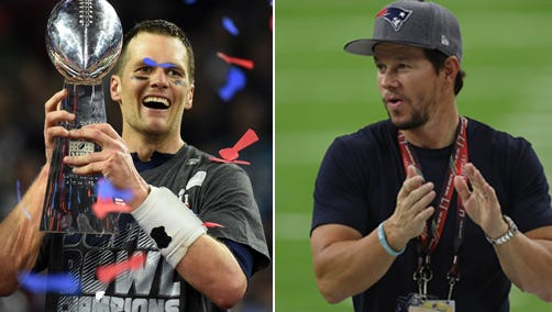 Actor and Patriots fan Mark Wahlberg believes Tom Brady knows the whereabouts of his Super Bowl jersey.