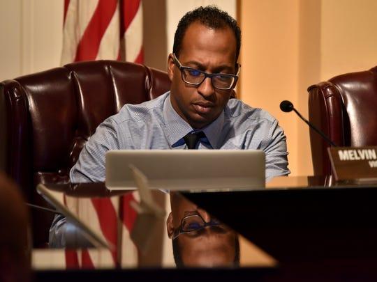 Councilman Melvin Priester Jr. says successful school
