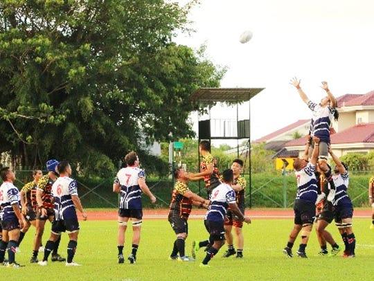 The Heineken Guam National Men's Rugby team opened