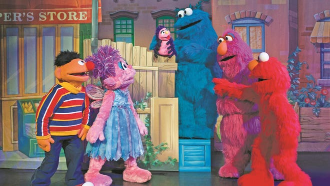 """Sesame Street Live: Let's Dance!"" includes kids' favorites like ""Itsy Bitsy Spider."""