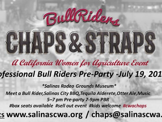 Chaps & Straps fundraiser for California Women for