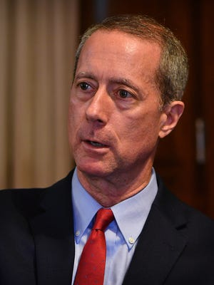 U.S. Congressman Mac Thornberry visited the Times Record News Tuesday and spoke about border security, military readiness and the Bureau of Land Management.