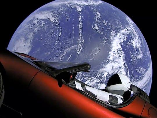 APTOPIX Space SpaceX New Rocket