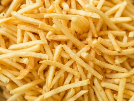 Is mcdonald 39 s under filling your french fries for Ada s fish fry