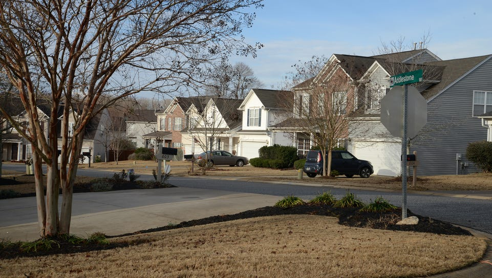 Rogers Mill Subdivision in Duncan, S.C.