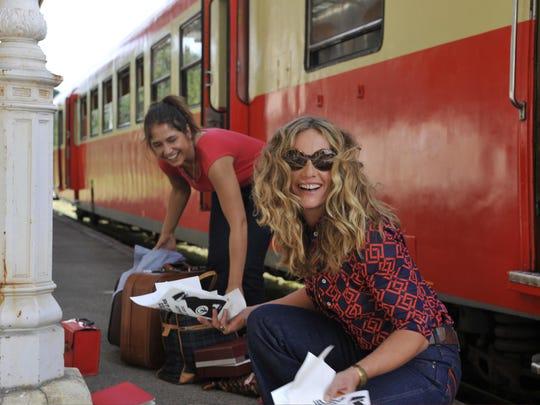 "Izïa Higelin and Cécile De France in ""Summertime."""