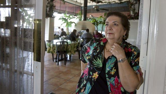 Owner BJ Hernandez at Havana Cafe in Scottsdale, which closed June 1, 2015.