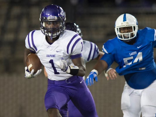 HS Football: Sidney Lanier vs Daphne