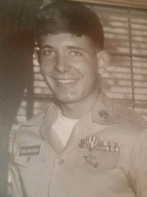 John Van Wagner served in the United States Army during the Vietnam War and was in the 1968 TETOffensive.